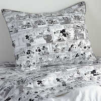 Image of Mickey Mouse Comic Strip Sham by Ethan Allen # 1