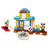 Image of Mickey Mouse & Friends Beach House LEGO Duplo Playset # 1