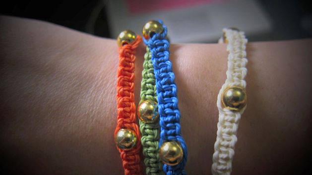 Square Knot DIY Bracelets Tutorial