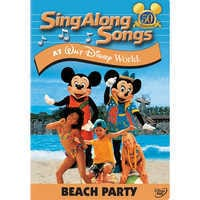 Image of Sing Along Songs: Beach Party at Walt Disney World DVD # 1