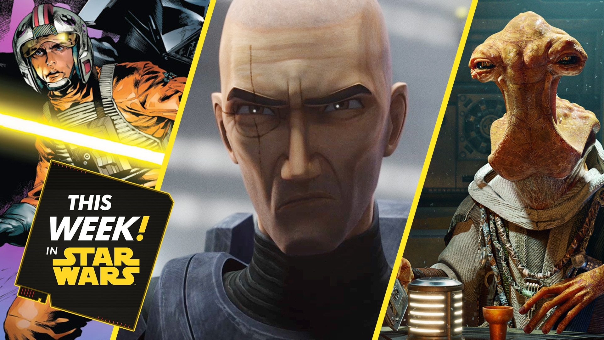 Last Call with Tales from the Galaxy's Edge, The Bad Batch Returns to Kamino, and More!