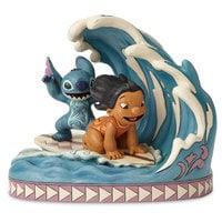 Image of Lilo & Stitch ''Catch the Wave'' Figure by Jim Shore # 1
