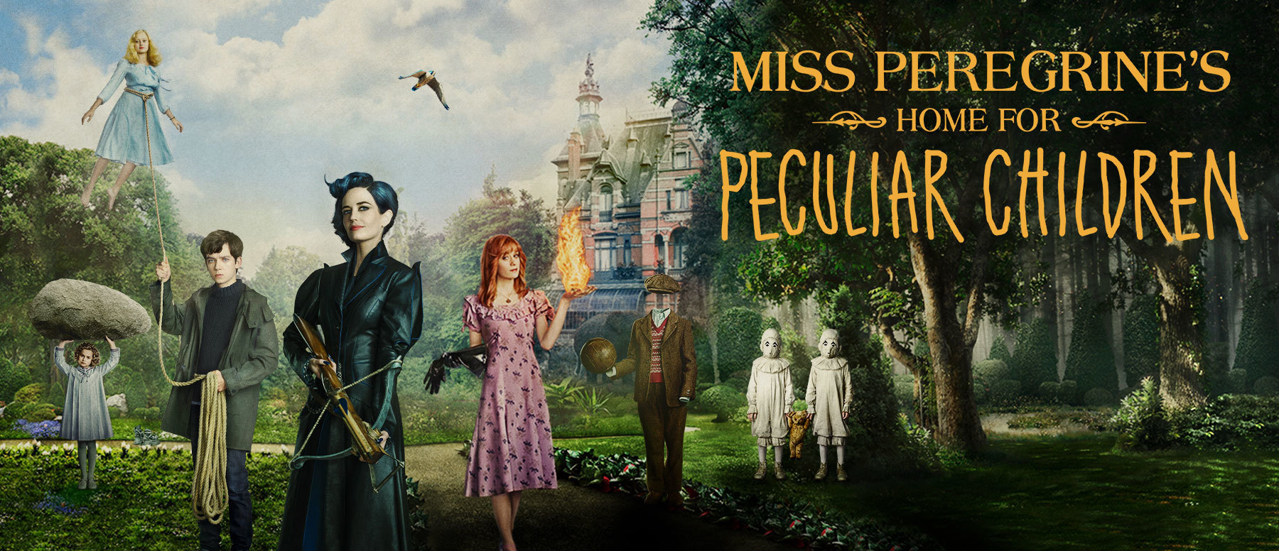 Miss Peregrine's Home for Peculiar Children Hero