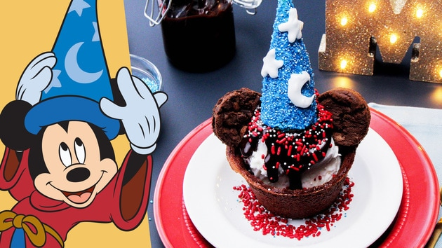 Sorcerer Mickey Brownie Bowl Sundae | Dishes by Disney by Disney Family