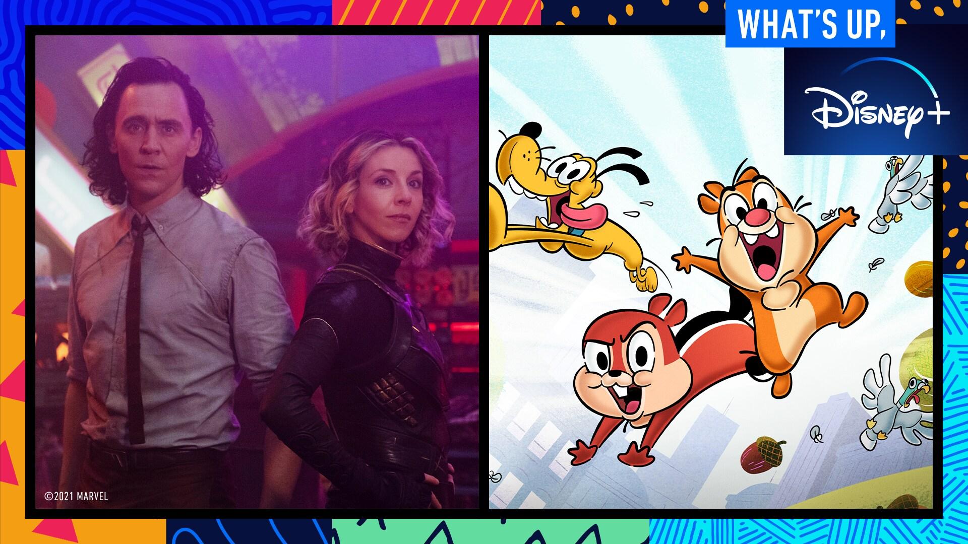 Chip 'n' Dale: Park Life Trivia and Marvel Studios' Loki Director Kate Herron | What's Up, Disney+