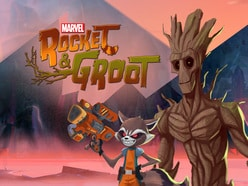 Marvel's Rocket & Groot Shorts