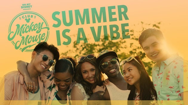 "Club Mickey Mouse ""Summer Is a Vibe"" Music Video 