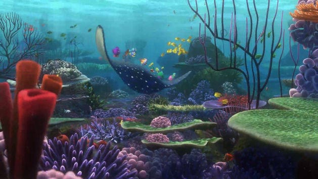 Finding Nemo - Mr. Ray