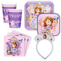Image of Sofia the First Disney Party Collection # 1