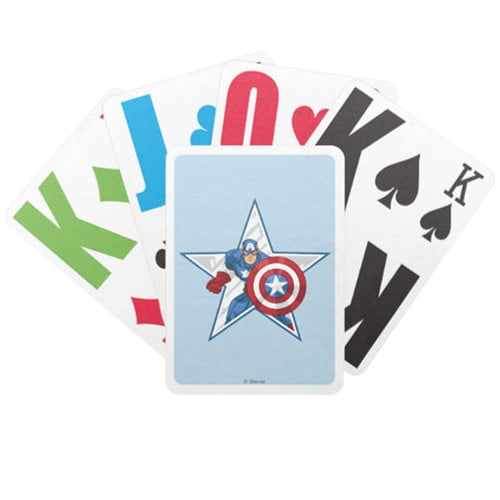 Captain America Playing Cards - Customizable