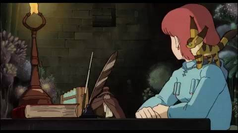 Nausicaa Of The Valley Of The Wind: Nausicaa's Greenhouse