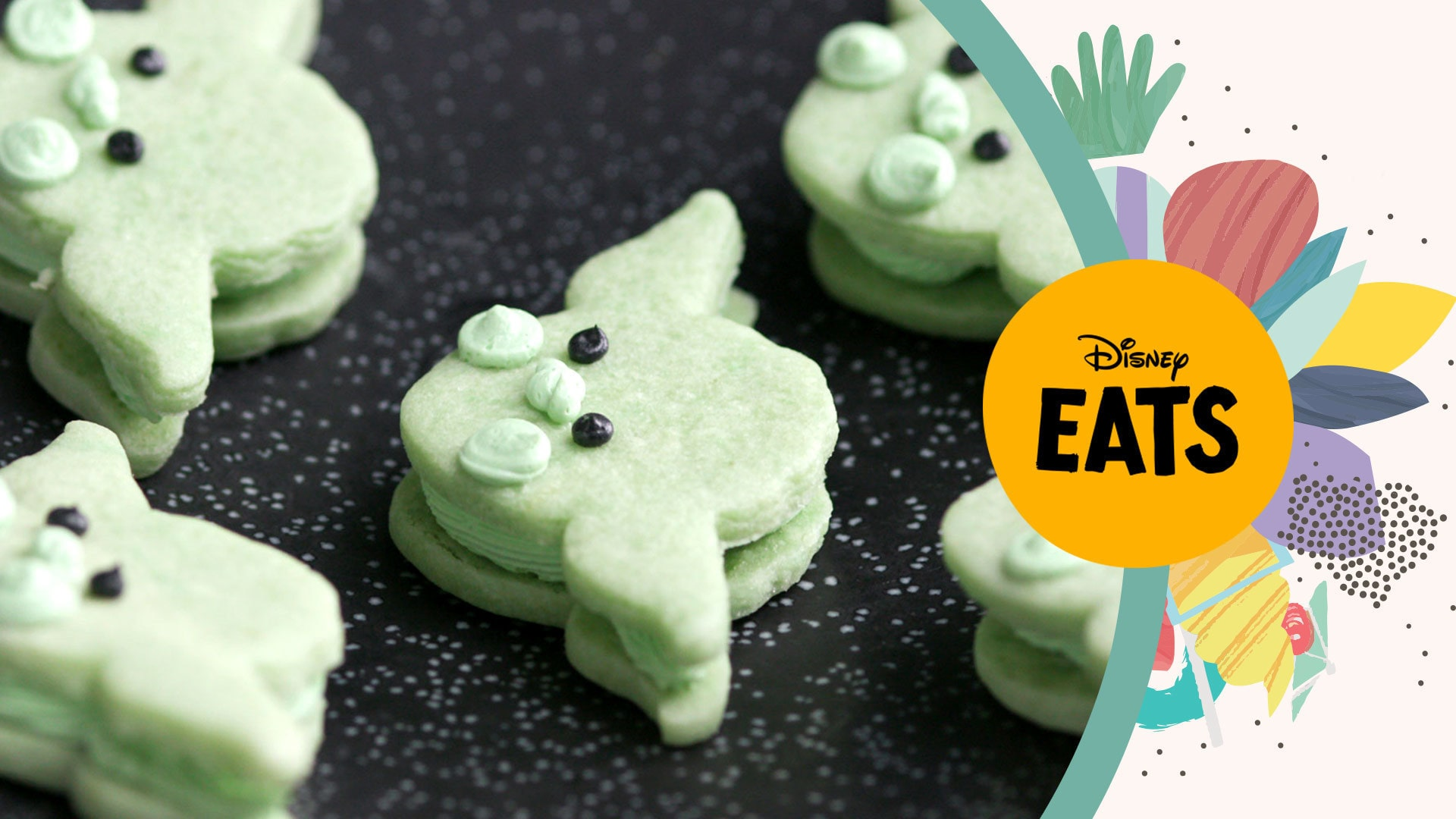 Yoda Cookie Sandwiches | Disney Eats