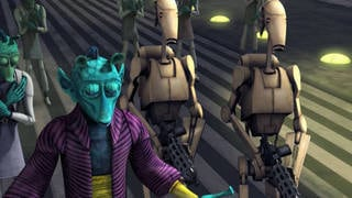 Nute Gunray Arrives on Rodia