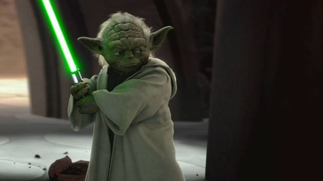 Star Wars - Yoda vs. Grev Dooku