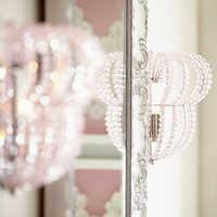 Image of Minnie Mouse Beaded Wall Sconce by Ethan Allen # 2