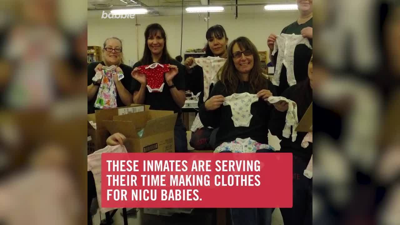 Inmates at This Oregon Prison Dedicate Hours Each Week to Making Clothes for Preemies