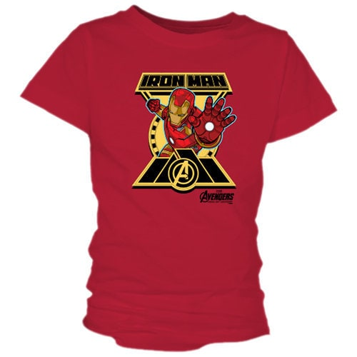 Iron Man Tee for Girls - Marvel's Avengers: Age of Ultron - Customizable