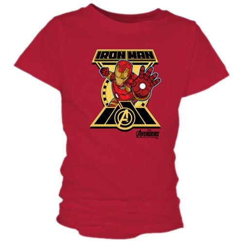 Iron Man Tee for Girls - Marvel's Avengers: Age of Ultron - Customizable
