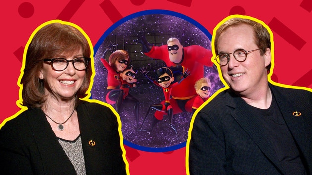 Brad Bird and Nicole Grindle on Taking on Incredibles 2   Oh My Disney