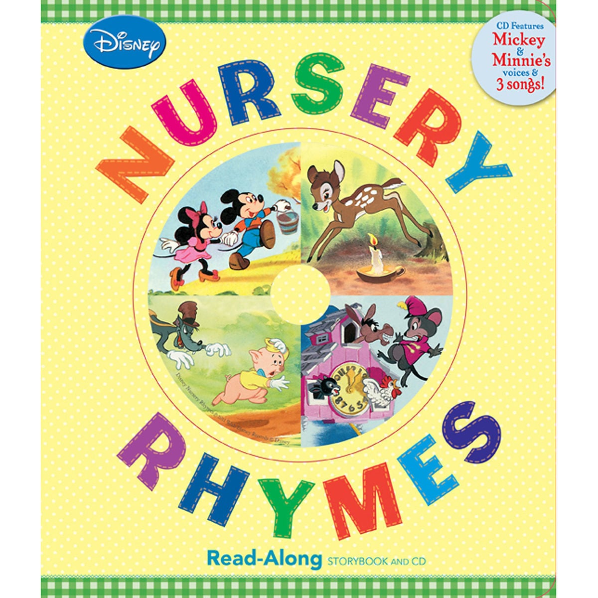 Nursery Rhymes Song-Along Book and CD - Mickey Mouse | shopDisney