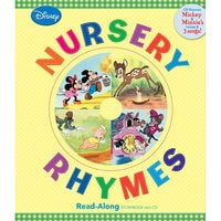 Nursery Rhymes Song-Along Book and CD - Mickey Mouse