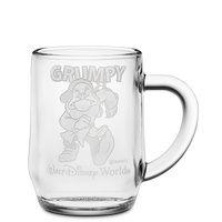 Grumpy Glass Mug by Arribas - Personalizable