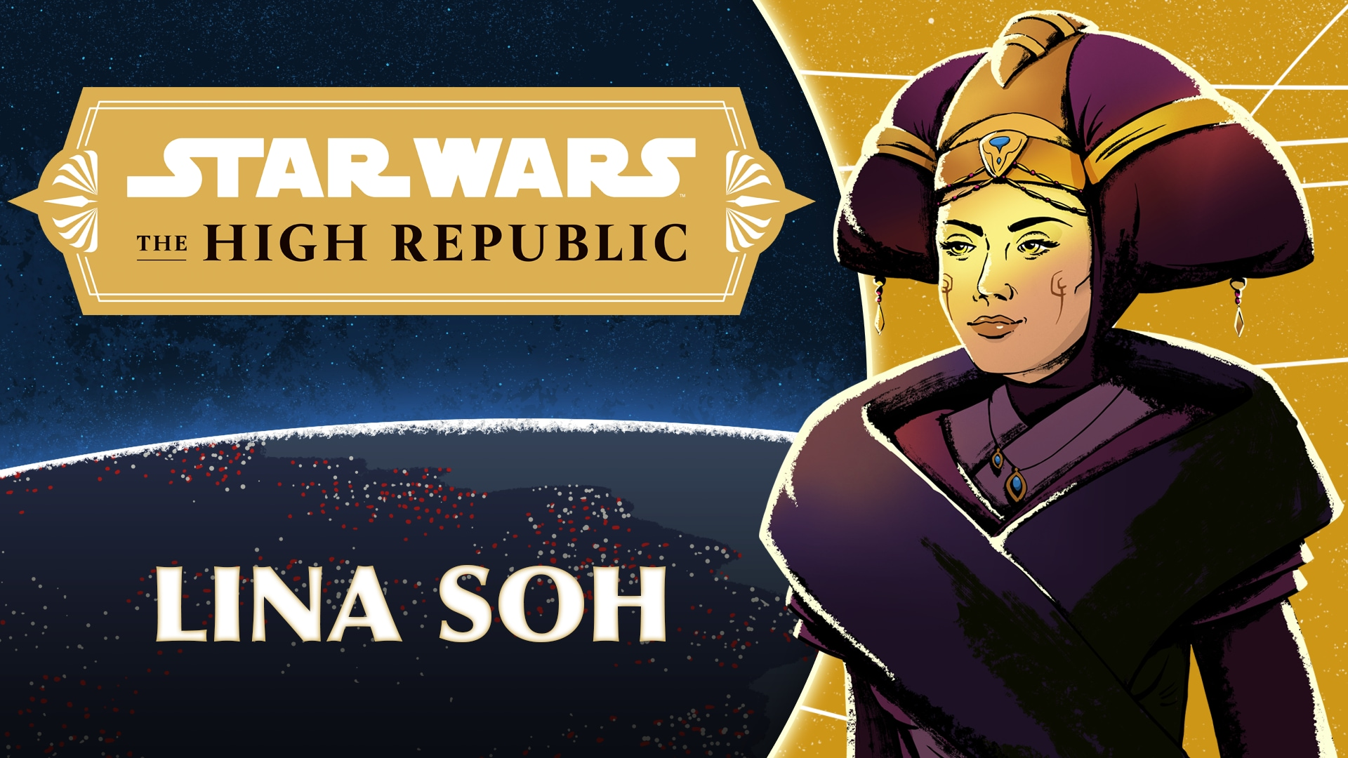 Chancellor Lina Soh | Characters of Star Wars: The High Republic