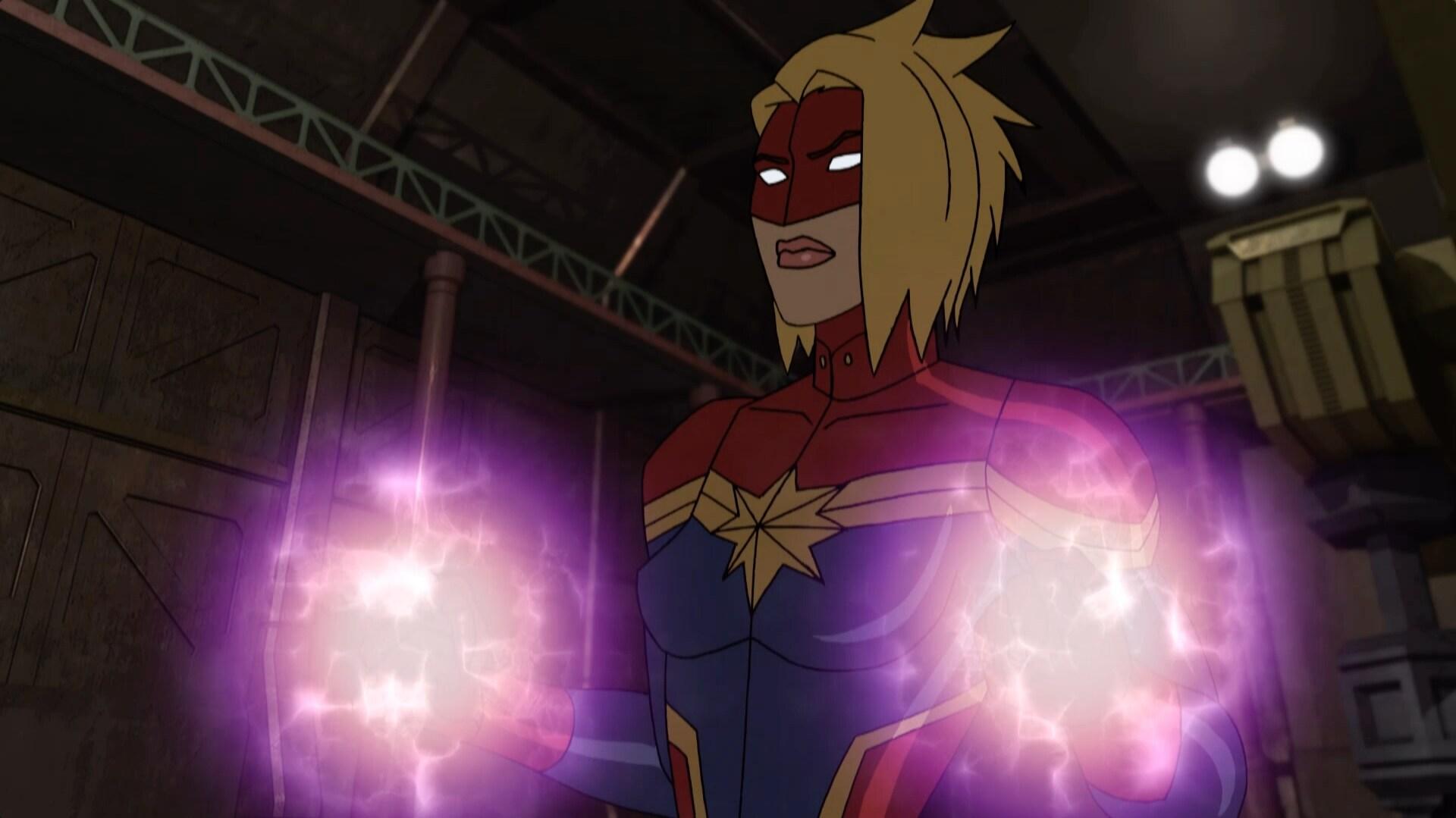 Capitã Marvel - Os Vingadores da Marvel: Guerras Secretas