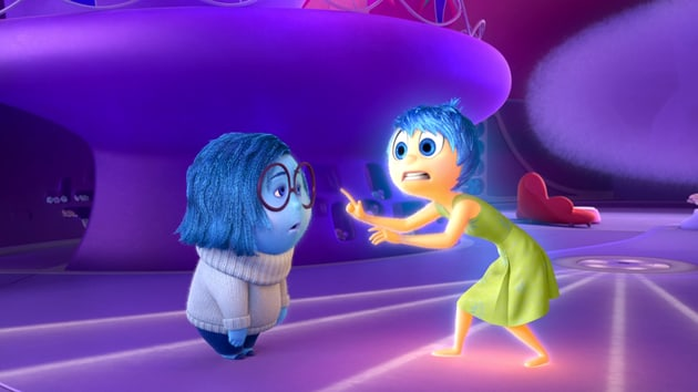 Riley's First Day at New School Plan - Inside Out Clip