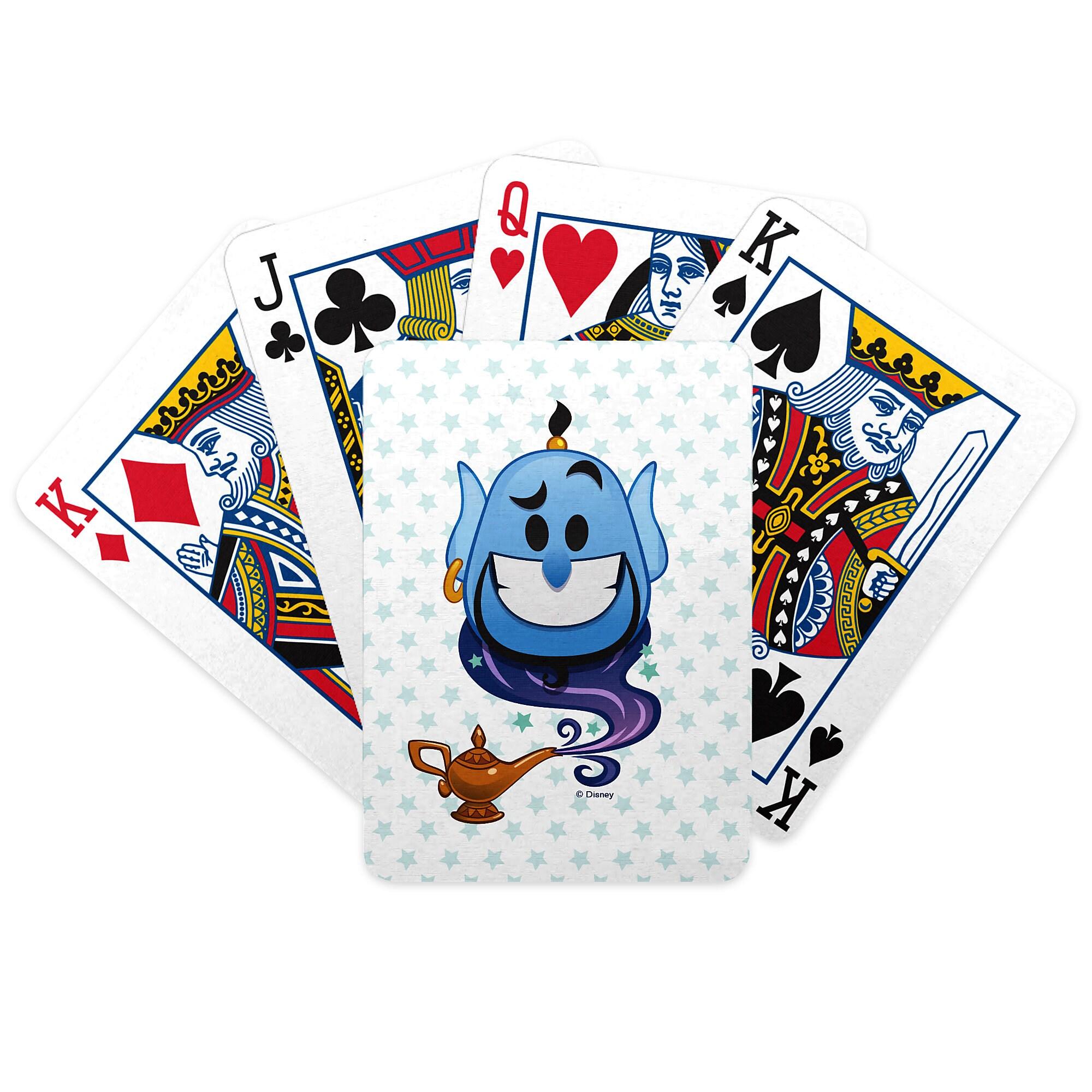 Genie Emoji Playing Cards - Aladdin - Customizable