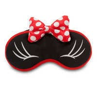 Image of Minnie Mouse Plush Sleep Mask for Women # 1