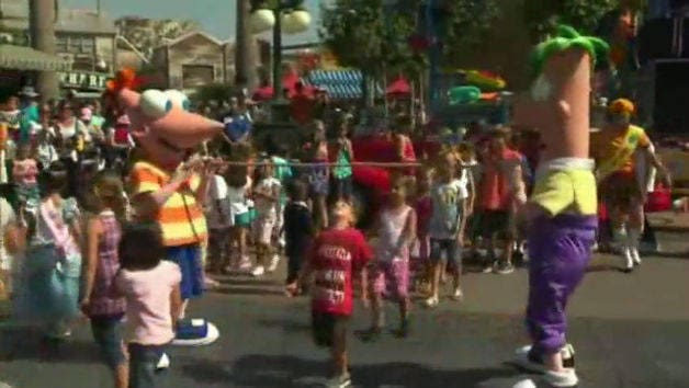 Phineas and Ferb's Rockin' Rollin' Dance Party