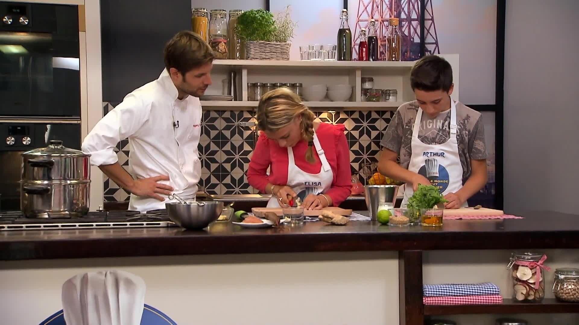 La Paupiette de lentilles à la Figatelle d'Elisa et Arthur - Chez Rémy Tout Le Monde Peut Cuisiner - Partie 2