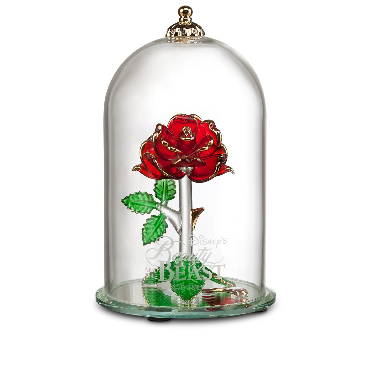 Beauty and the beast enchanted rose glass sculpture by arribas thumbnail image of beauty and the beast enchanted rose glass sculpture by arribas large izmirmasajfo Choice Image