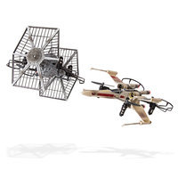 Image of X-wing vs. TIE Fighter Drone Remote Control Battle Set - Star Wars # 1