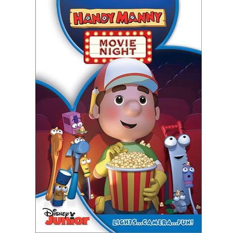 Handy Manny: Movie Night DVD