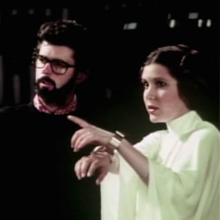 George Lucas Interview: Carrie Fisher