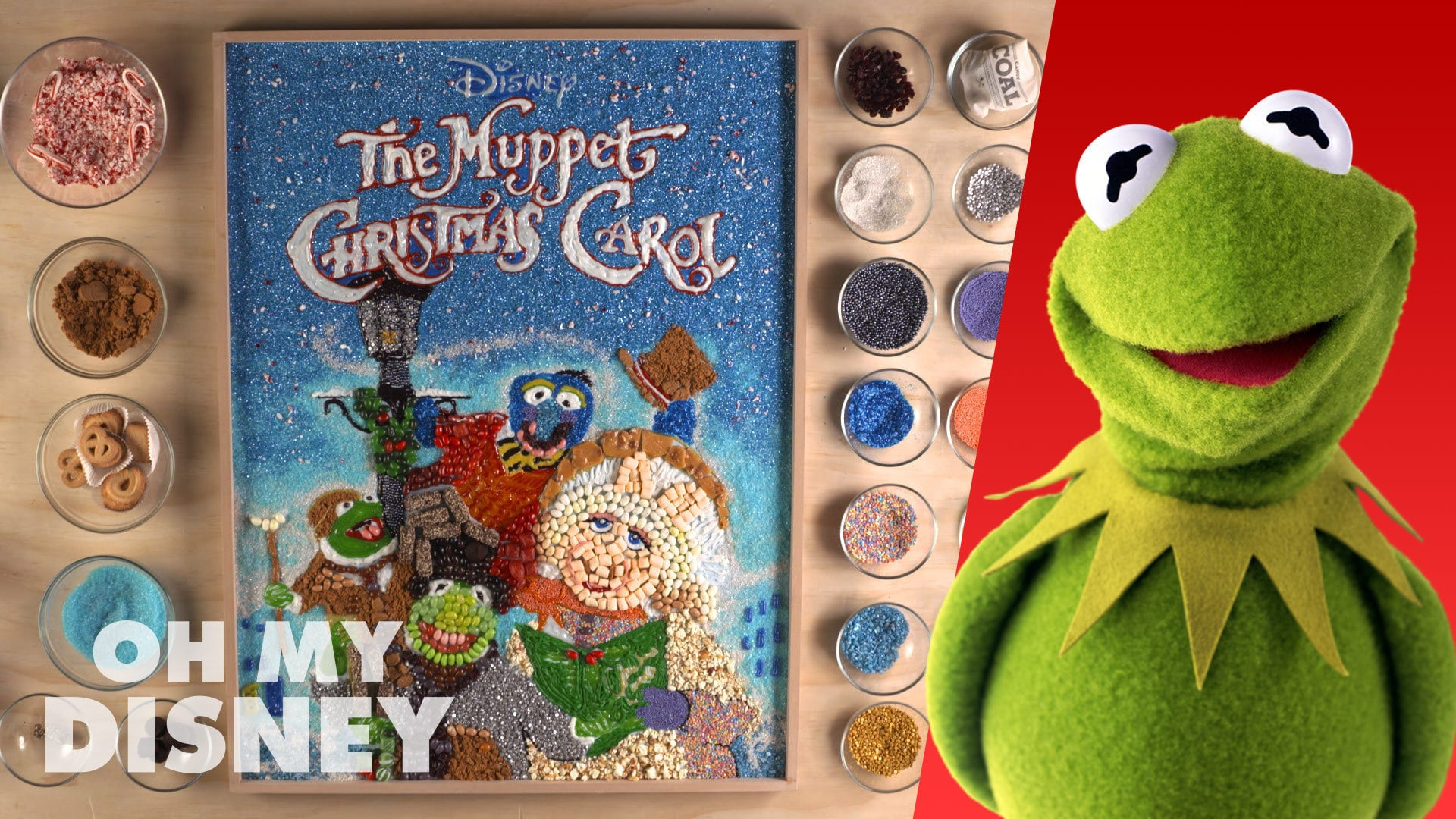 The Muppet Christmas Carol Food Art | Sketchbook by Oh My Disney
