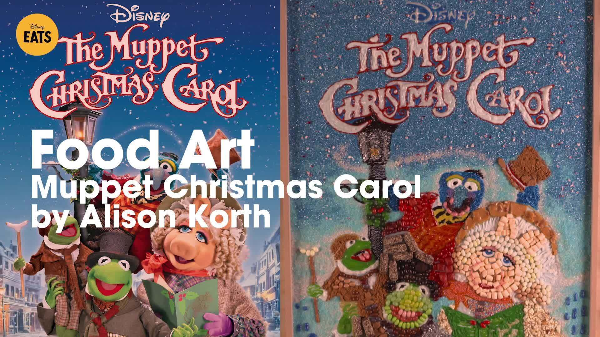 Muppet Christmas Carol Food Art | Disney Eats