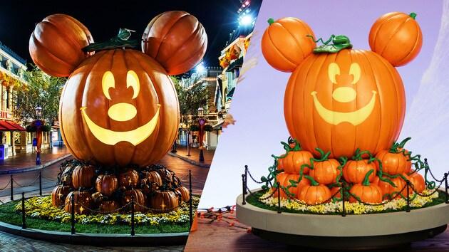 Main Street Mickey Pumpkin | Disney DIY by Disney Family