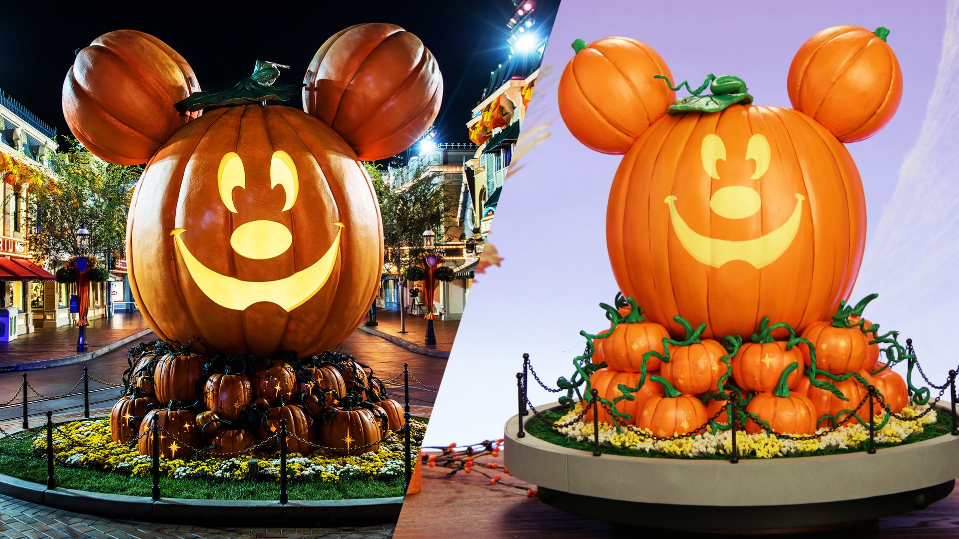 Main Street Mickey Pumpkin | Disney DIY by Disney Family