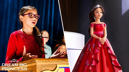 Dream Big, Princess – Side-by-Side Elena | Disney