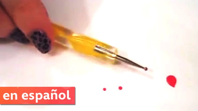 Cómo hacer tu propia herramienta diseños de uñas (DIY Dotting Tool) | CutePolish | Disney Style