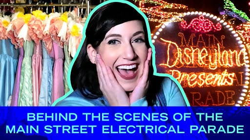 Behind the Scenes of the Main Street Electrical Parade
