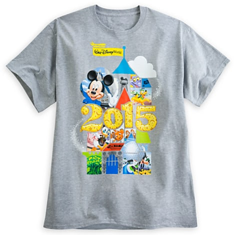 Mickey Mouse and Friends Heathered Tee for Adults - Walt Disney World 2015