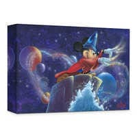 Image of ''Mickey's Magic'' Giclée on Canvas by James C. Mulligan # 1