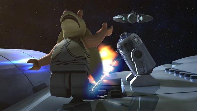 Lego Star Wars Droid Tales Jar Jar Monday Feels