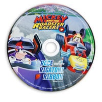 Mickey and the Roadster Racers: Race for the Rigatoni Ribbon Book and CD