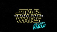 Star Wars: The Force Awakens As Told By Emoji