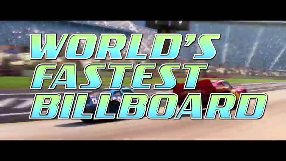 Cars3 | Worlds Fastest Billboard 2